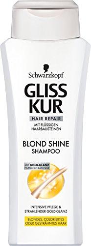 Gliss Kur Blond Shine Shampoo, 6er Pack (6 x 250 ml)