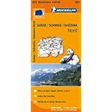 Carte Suisse Nord Michelin