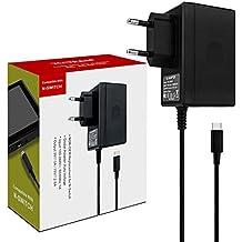 YTEAM Adaptateur Secteur pour Switch Support Le Mode TV Charge Rapide USB Type C Chargeur pour Nintendo Switch