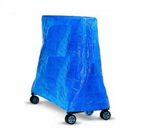 Strapazierfähige Schutzplane für Tischtennis-Platten, Indoor/Outdoor–geeignet für alle wichtigen Marken (Butterfly, Cornilleau, Plum, Kettler, Super Tramp, Asda), Schutz für Tischtennis-Klapptisch–Blau, blau