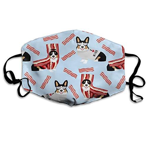 Tri Colored Corgi Corgis Love Speck-Design süßes Hundekostüm Halloween Anti-Staub-Maske Anti-Schmutz-Maske waschbar wiederverwendbare Mundmasken (Maskerade Masken Süße)