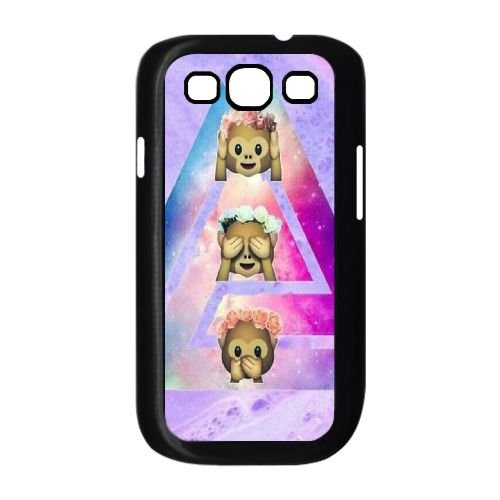 Cheap Cover Case for Samsung Galaxy S3 I9300,diy Chinese Cute Monkey Cell Phone Case ()