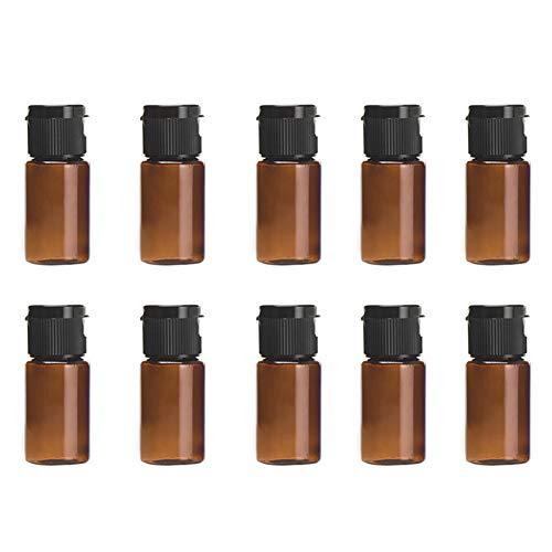 Oyfel Bouteille de Vide Voyage Flacons Vaporisateur Contenant Cosmetique en Plastique pour Avion Liquide Maquillage Conservation Camping Bagage DIY Parfum 10 pcs