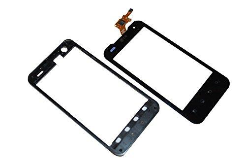 LG P990 Optimus Speed Touch Screen Rahmen Display LCD Glas Cover Original Neu black Lg Touch-screen Lcd