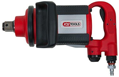 "KS Tools 515.3770 Clé à chocs 1"" pneumatique broche longue 2169 Nm"