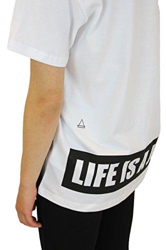 Eleven Paris Mowil 14F2LT080 - T-shirt - Manches courtes - Femme Blanc (White)