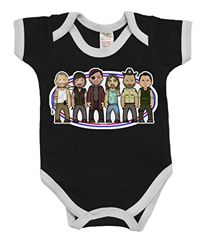 VIPwees Baby Kleidung Babygrow Walking With Zombies Boys & Girls Baby Bodysuit