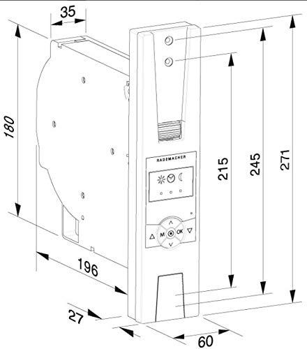 RolloTron Standard Plus (60 kg Zugkraft) 1305-UW - Elektrischer Gurtwickler für Rollläden