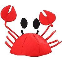 HEJIANGTAO Crab Cap Lobster Kids Adulto Divertido Rebajas Accesorios Festivo Festival Anual Fiesta Sombreros Sombrero de Navidad, Sombrero de Cangrejo