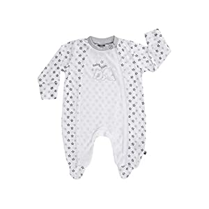 Jacky Kinder die Tencel Einteilige Schlafanzug mit Turn Over Fäustlinge Einheitsgröße