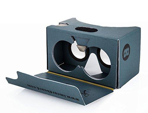 v2.0 I AM CARDBOARD® VR CARDBOARD KIT - Inspired by Google Cardboard v2 (Blue)