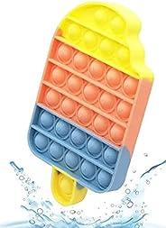 Large Ice Cream Pop it push pop bubble sensory decompression popit toy, icecream squeeze sensory fidget, speci