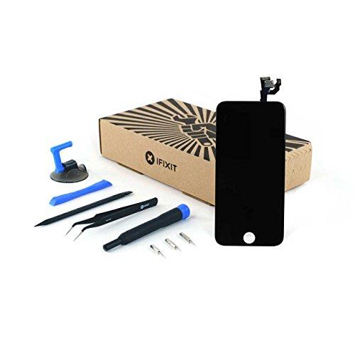 iFixit iPhone 6 Display (inkl. Kamera & Lautsprecher) Reparatur-Kit / Schwarz (4s Handy-bildschirm-reparatur-kit)