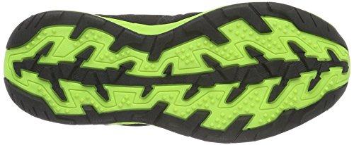 Conway 607396, Bottes courtes avec doublure chaude mixte enfant Multicolore - Mehrfarbig (schwarz/grün)