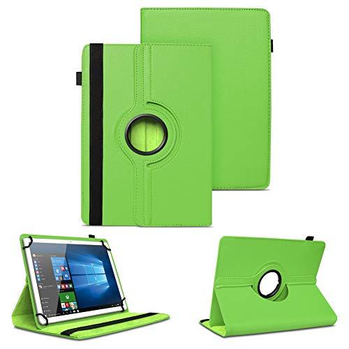 NAUC Universal Tasche Schutz Hülle Tablet Schutzhülle Tab Case Cover Bag Etui 10 Zoll, Farben:Grün, Tablet Modell für:Blaupunkt Enterprise 1020CH