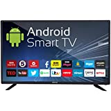 eAirtec 81 cm (32 inches) HD Ready Smart LED TV 32DJSM (Black) (2018 Model)