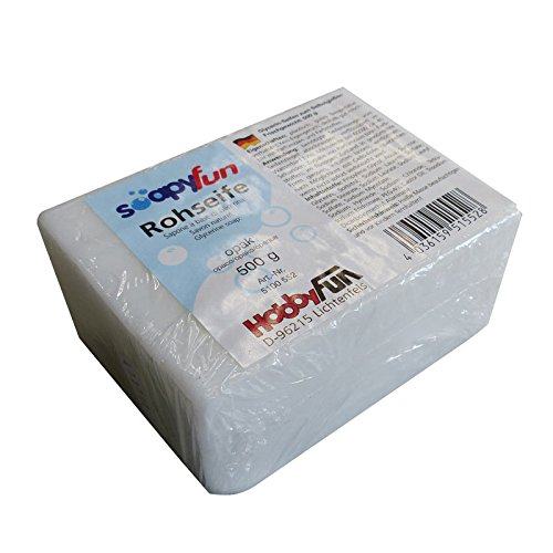 Weiße Glycerin-seife (Rohseife Weiß, 500g)