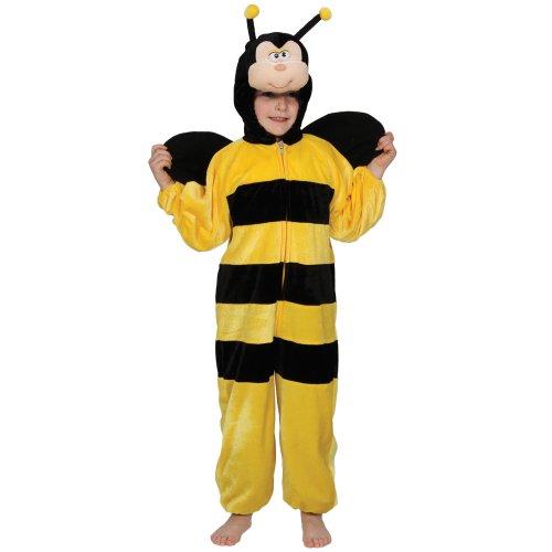 Kinder Verkleidung Fasching Halloween Kostüm Biene Hummel L (Bumble Bee Halloween Kostüm Ideen)