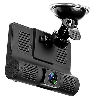 Roblue-Dashcam-Autokamera-1080P-Rckspiegel-Monitor-mit-Rckfahrkamera-Lens-Touchscreen-170-Weitwinkel-4-Zoll