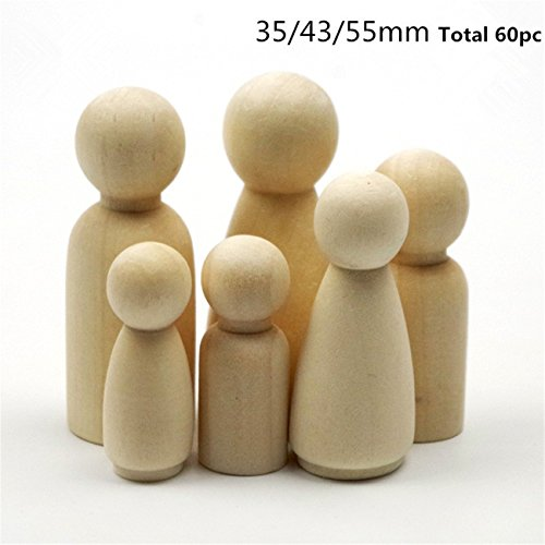 60pcs-family-of-wooden-peg-doll-solid-hardwood-natural-unfinished-wood-beads-turnings-ready-for-pain