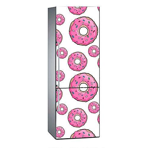 Oedim Vinilo Frigorífico Donuts Rosas 200x70cm |