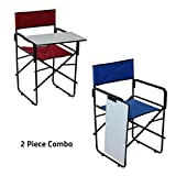 #8: Spacecrafts Folding Study Chair with Writing pad (2 Pieces Combo)