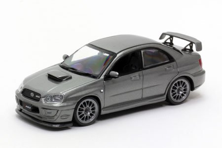 car-nel-1-43-subaru-impreza-s203-2005-crystal-gray-metallic-1-43-scale-dieca