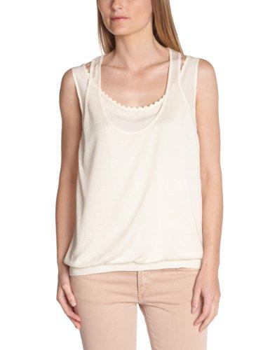 KOOKAI - T-shirt, Donna, Avorio (Elfenbein (Craie)), Taglia produttore: T3