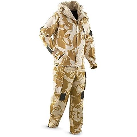 NBC - Completo giacca e pantaloni in stile militare, per deserto, adatti ad attività di (Stile Protezione Di Gas)