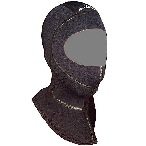 Kopfhaube Superelastic Classic Dive Hood 5mm Stretch Neopren und Thermokragen