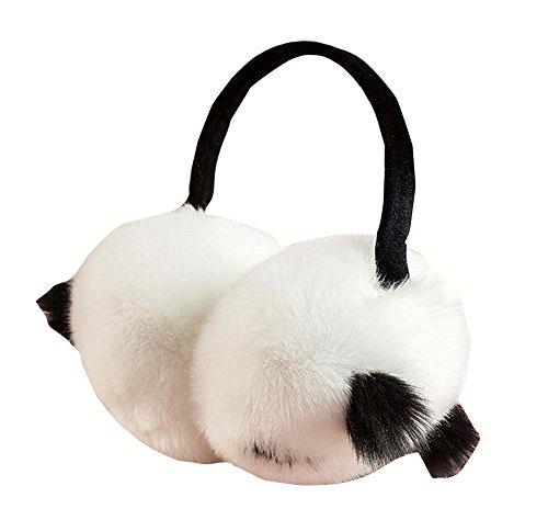Femmes d'hiver Plein air Peluche Earmuffs Ear Warmer