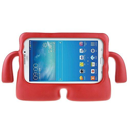 MUZE Custodia per Samsung Galaxy Tab 3, in custodia protettiva, con impugnatura in gomma gommapiuma, (Custodia Protettiva In Gomma)