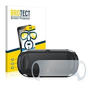 BROTECT Schutzfolie kompatibel mit Sony Playstation PCH-1000-Serie PS Vita Touchpad (Rückseite) (2 Stück) klare…