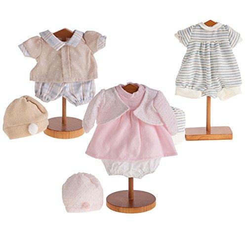 Muñecas Antonio Juan - Trajes para muñecas de 42 cm - Selección de ropa y vestidos surtidos para las muñecas de la marca