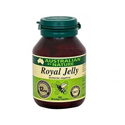 Australian by Nature Royal Jelly 1000mg 60 Capsules by Australian By Nature
