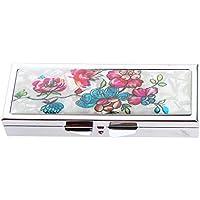 Preisvergleich für B Baosity Tragbar Pillenbox Organizer, Klein Einfach Pillendose Vitamin Caddy Tablettenbox mit 6 Fächer für Reise...