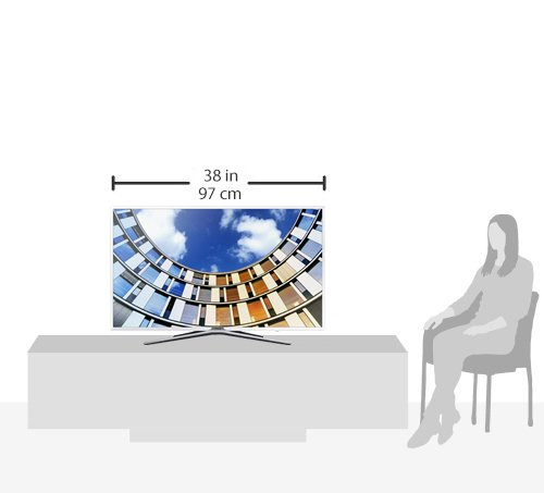 Samsung M5580 108 cm (43 Zoll) Fernseher (Full HD, Triple Tuner, Smart TV) [Energieklasse A] - 12