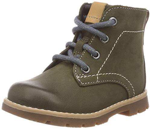 Clarks Jungen Comet Rock Klassische Stiefel, Grau (Olive Leather), 38 EU