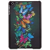 3d farfalle cluster di modello di caso per ipad mini 3, Mini iPad 2, ipad mini , black