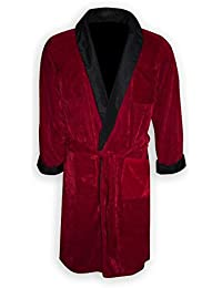 Playboy Smoking Jacke/ Kostüm Hugh Hefner mit Gürtel & Pfeiffe