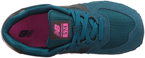 New Balance Unisex-Kinder 574 Sneakers Blau (Blue)