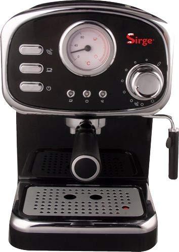 Sirge CREMILDA Caffè Retrò - Macchina per caffè espresso per polvere e cialda ESE, 15...