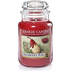Yankee Candle Cranberry Pear - Big Jar