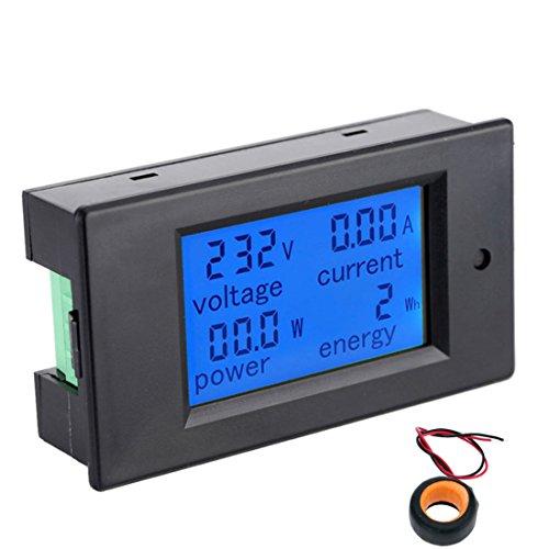 LCD Digital AC Voltmeter Amperemeter Aktuelle Ampere Panel Meter Volt Amp Gauge