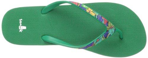 Sanuk, Ciabatte da spiaggia donna Verde