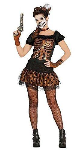Imagen de disfraz de esqueleto retro