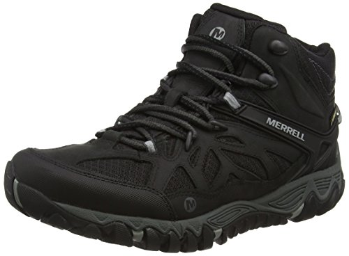 Merrell All Out Blaze Vent Mid Gtx Herren Trekking- & Wanderhalbschuhe Schwarz (Black)