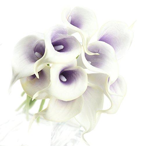 fiveseasonstuff-10-stems-of-real-touch-calla-lillies-artificial-flower-bouquet-perfect-for-wedding-b