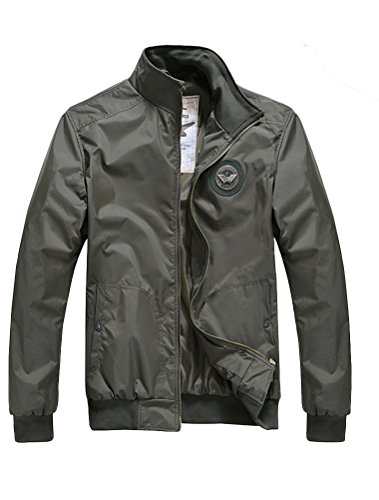matchlife-hommes-jacket-style-bomber-insigne-usair-force-sport-casual-manches-longues-col-veste-mant