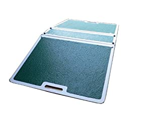 NRS Healthcare Fibreglass Folding Threshold Ramp (Eligible for VAT relief in the UK)